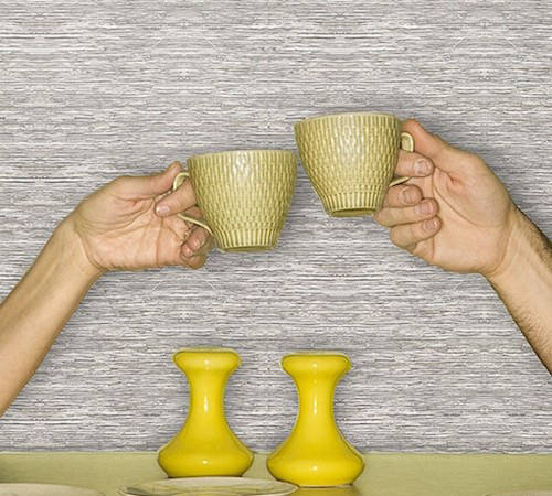 Apartment idea #1: Removable wallpaper to add personality