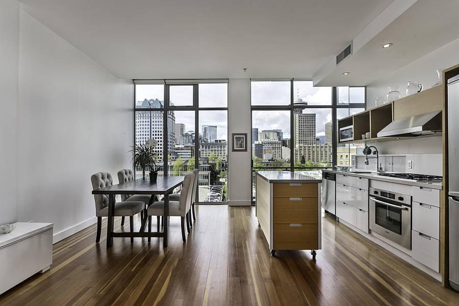 Large Windows Minimalist Apartment
