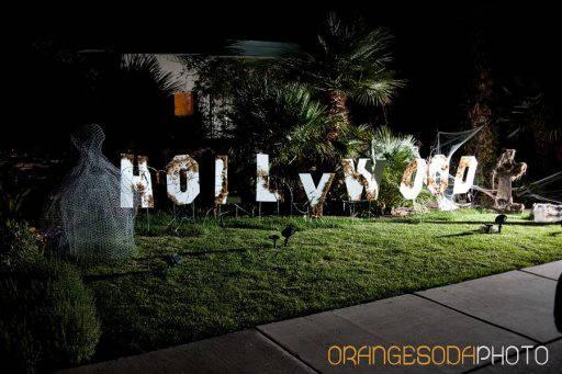 Halloween Hollywood Sign