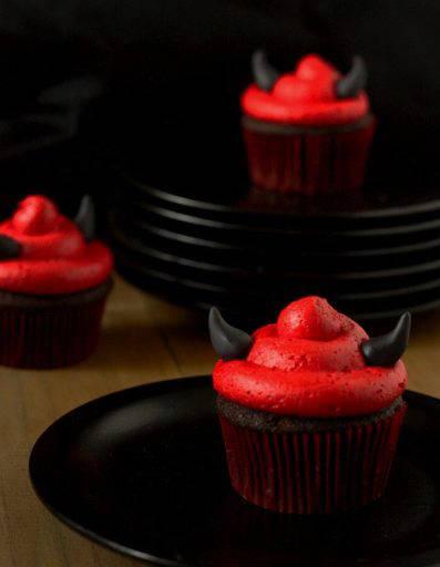 Devil Cupcakes