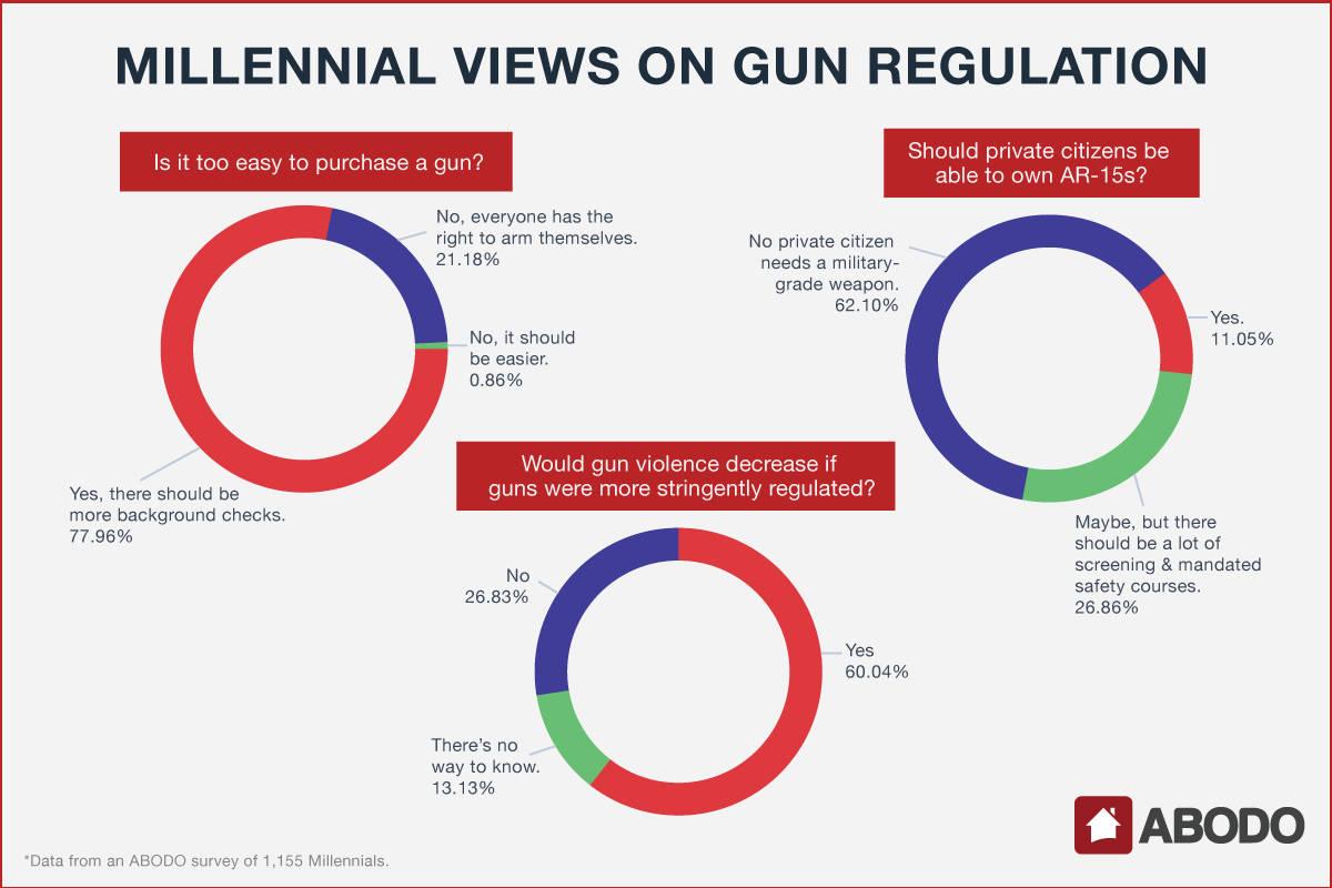 Millennial Views on Gun Regulation