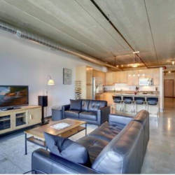 Loft for rent on 4th in Minneapolis
