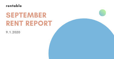 September rent report 2020
